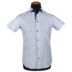 Short sleeve men's shirt ALESSANDRIA
