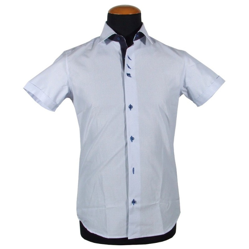 Short sleeve men's shirt