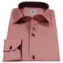 Herrenhemd Kragen Stil Italienisch
