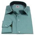 Italian collar men's shirt