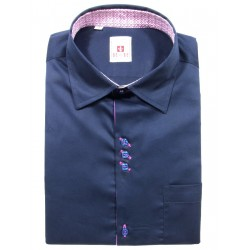 Camicia blu scuro
