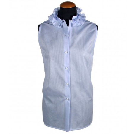 Women's sleeveless shirt AMETISTA