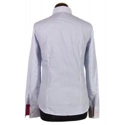 Straight collar women's shirt