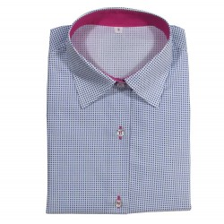 Polka dot women's shirt