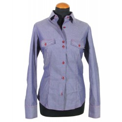 Denim women's shirt