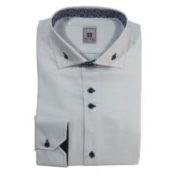 Button-down collar men's shirt