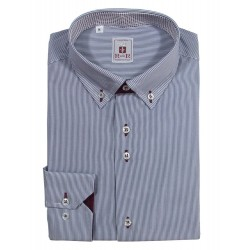 Camicia uomo colletto button-down