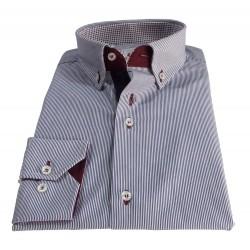 Camicia uomo micro bacchetta
