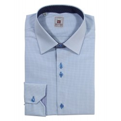 Herrenhemd Kragen button down