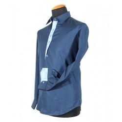 Herrenhemd blau