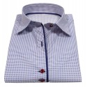 Camicia donna colletto straight