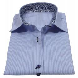 Frauen Hemd Azurblau