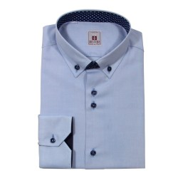 Herrenhemd Kragen button-down