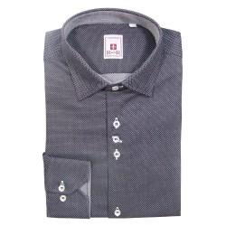 Camicia grigio scuro in cotone