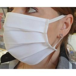 Mascherina Protettiva bianca in cotone