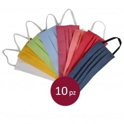 10 Schutzmaske Farbige aus...