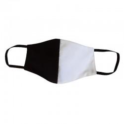 Schwarz-weiß Formmask aus...