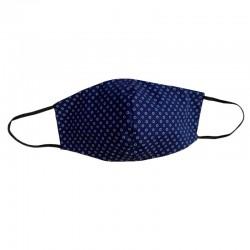 Geformte Maske aus blauer...