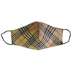 Scottish cotton shaped mask