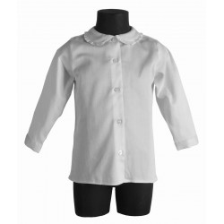 Camicia bimba RANUNCOLO BIANCO
